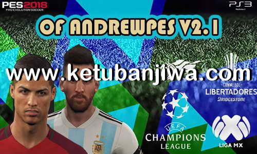 PES 2018 AndrewPes Option File 2.1 Update DLC 3.0 For PS3 OFW BLES + BLUS Ketuban Jiwa