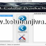 PES 2018 Mod Selector Tool by Devil Cold52