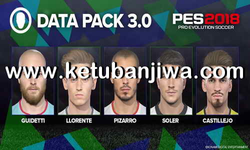 PES 2018 MyPES Patch 0.3 Compatible DLC 3.0 Ketuban Jiwa