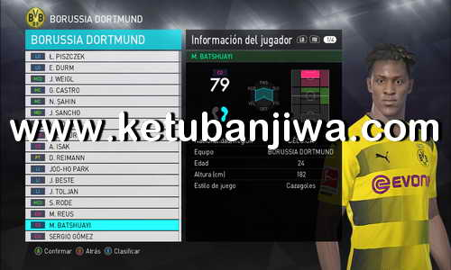 PES 2018 Option File Full Winter Transfer Update 02 February 2018 For PTE Patch v3.0 by ZeroPes Ketuban Jiwa