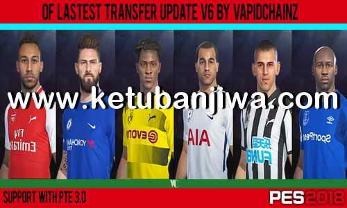 PES 2018 Option File v6 Transfer Update 02 February 2018 by VapidChainz Ketuban Jiwa