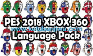 PES 2018 XBOX 360 Arabic Commentary Language Files