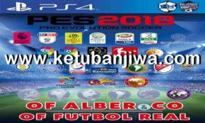 PES 2018 PS4 Futbol Real Option File 5.0 AIO