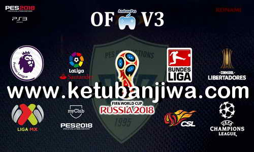 PES 2018 Option File AndrewPes v3 AIO For PS3 OFW BLES + BLUS Ketuban Jiwa