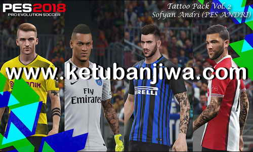 PES 2018 Tattoo Pack v2 by Sofyan Andri