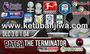 PES2018 XBOX360 The Terminator Patch DLC 3.0