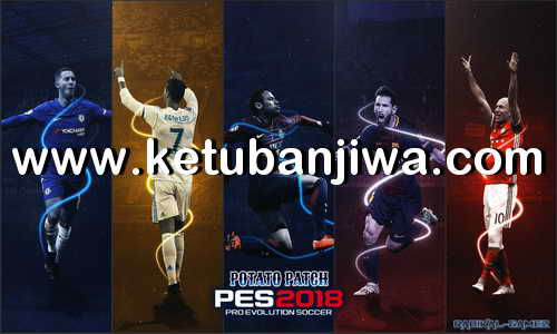 Download PES 2018 Potato Patch v4 Update For PS3 CFW BLES + BLUS Ketuban Jiwa