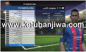 PES 2017 Option File Update 06/04/2018 Without Patch