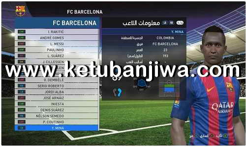 PES 2017 Option File Update 06 April 2018 Without Patch For PC by Hatem Fathy Ketuban Jiwa