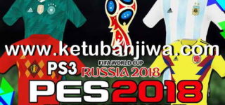 PES 2018 PS3 OFW Team Export v2 AIO World Cup Russia 2018
