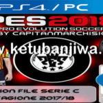 PES 2018 PS4 + PC Option File Serie C v4