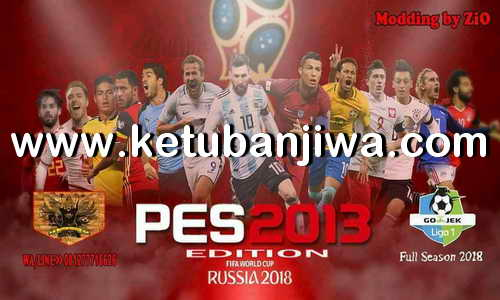 PES 2013 PS3 Winter 18 + World Cup Edition by ZiO