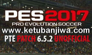 PES 2017 Unofficial PTE Patch 6.5.2 Update 19/05/2018