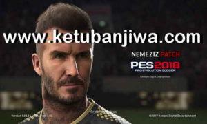 PES 2018 PS3 Nemeziz Patch 0.4.1 Update