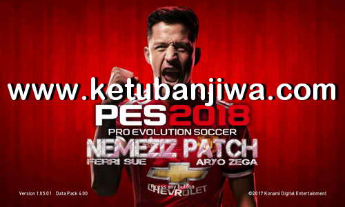 PES 2018 Nemeziz Patch v0.4 AIO For PS3 CFW BLES + BLUS Ketuban Jiwa