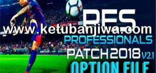 PES 2018 Professionals 2.1 Option File Update 24/05/2018