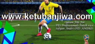 PES 2018 Professionals 2.1 Option File Update 10/05/2018