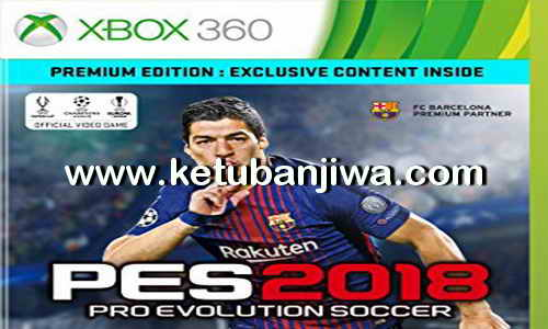 PES 2018 VP Patch DLC 4.0 For XBOX 360 by GLDR Gamer Ketuban Jiwa
