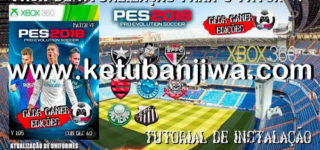 PES 2018 XBOX360 Patch VP Update 1 + 2