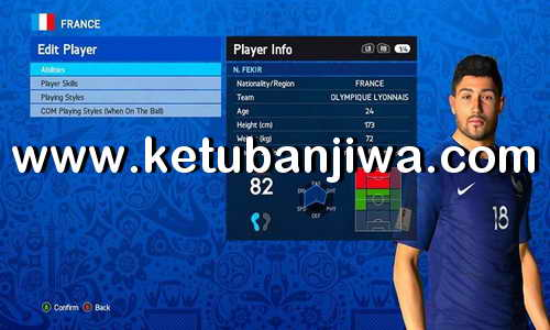 PES 2017 Option File Update 08 June 2018 For PES Professionals Patch v4.3 Ketuban Jiwa