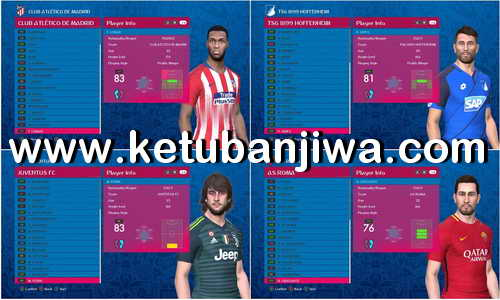 PES 2017 Option File Update 13 June 2018 For All PES Professionals Patch Version by Hatem Fathy Ketuban JIwa
