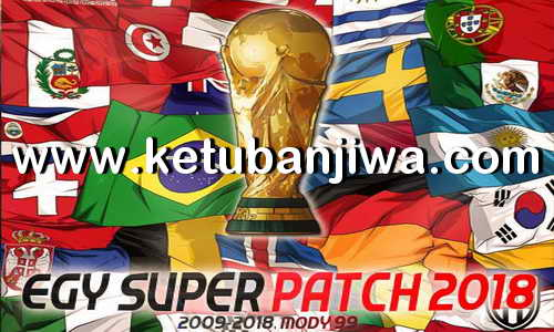 PES 2018 EGY Super Patch World Cup Edition