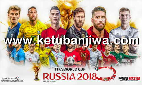 PES 2018 Next Level Patch v3.2 Update World Cup Edition For PS3 CFW BLES + BLUS Ketuban Jiwa