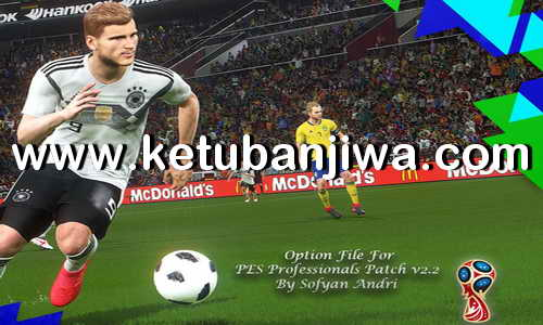 PES 2018 Professionals 2.2 Option File Update 18/06/2018