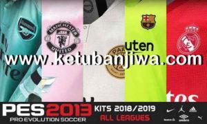 PES 2013 All Leagues Kitserver Pack Season 2018-2019 Ketuban Jiwa