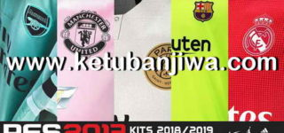 PES 2013 All Leagues Kitserver Pack Season 2018/2019