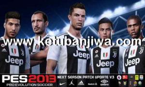 PES 2013 Next Season Patch 2019 Update 3