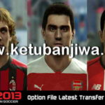 PES 2013 Option File Transfer Update 05/07/2018