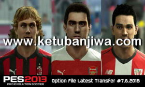 PES 2013 Option File Transfer Update 05 July 2018 by Micano4u Ketuban Jiwa