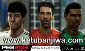 PES 2013 Option File Transfer Update 07/07/2018