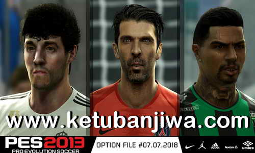 PES 2013 Option File Transfer Update 07 July 2018 by Micano4u Ketuban Jiwa
