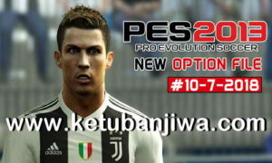 PES 2013 Option File Transfer Update 10 July 2018 by Micano4u Ketuban Jiwa
