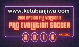 PES 2016 PTE Patch Option File v8 by Mackubex