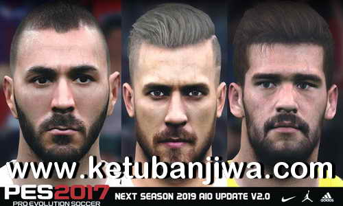 PES 2017 Next Season Patch 2019 AIO Update v2.0 by Micano4u Ketuban Jiwa