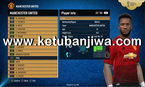 PES 2017 Unofficial PTE Patch 6.5.2 Option File Update 05 July 2018 Ketuban Jiwa