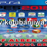 PES 2018 PS4 Futbol Real Option File v8 AIO