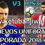 PES 2018 PS3 OFW Kits Pack v3 AIO Season 18/19