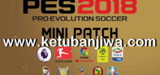PES 2018 Mini Patch Season 18/19