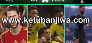 PES 2018 PS3 OFW AndrewPes Option File 3.1 World Cup