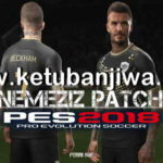 PES 2018 PS3 Nemeziz Patch 1.5 Update Single Link