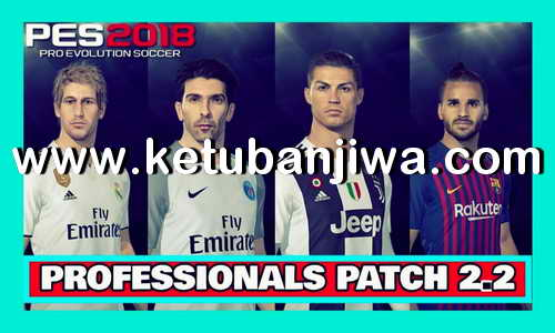 PES 2018 Professionals 2.2 Option File Update 17/07/2018