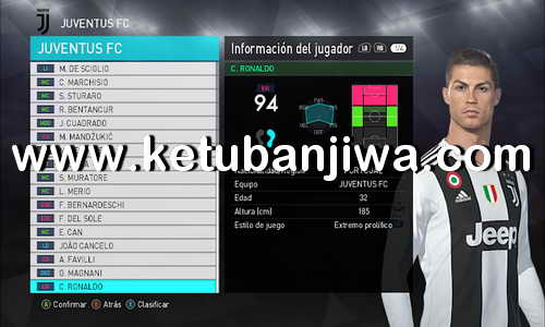 PES 2018 Summer Transfer Option File Update 11 July 2018 For PTE Patch v5.1 by ZeroPes Ketuban Jiwa