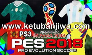 PES 2018 PS3 OFW Team Export v3 AIO World Cup Russia 2018