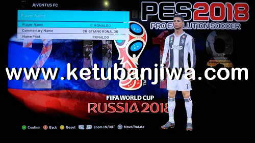 PES 2018 XBOX360 Brazukas Patch World Cup Edition AIO SS1 Ketuban Jiwa