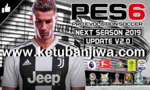 PES 6 Next Season Patch 2019 + Update v2.0 by Micano4u Ketuban jiwa