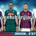 PES 2018 Professionals 2.2 Option File Update 20/08/2018